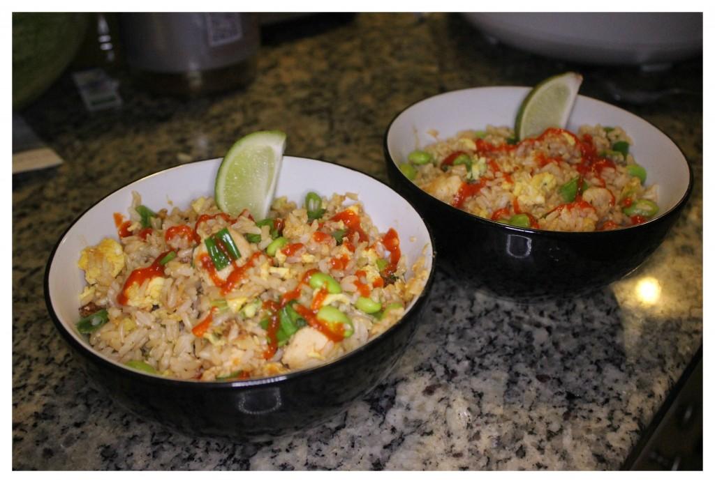 thai fried rice bowl
