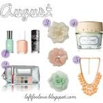 August Favorites