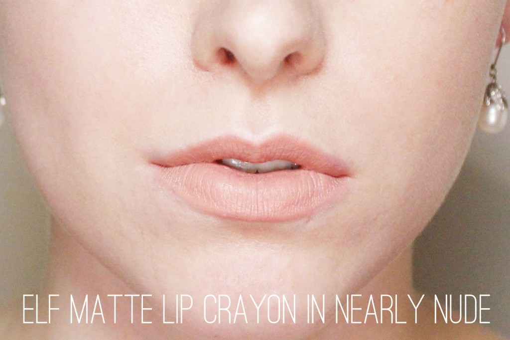 Elf Matte Lip Crayon in Nearly Nude