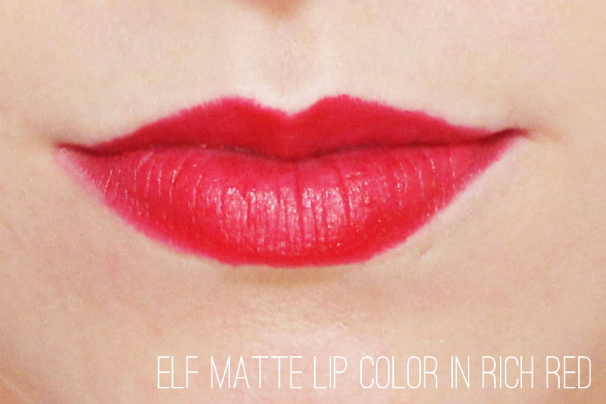 Elf Matte Lip Crayon in Rich Red