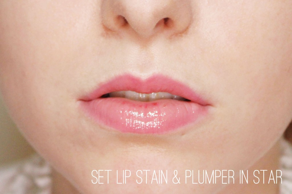 Set Lipstain and Plumper in Star