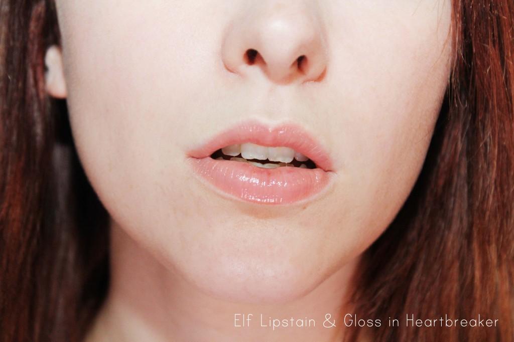 elf lipstain in Heartbreaker