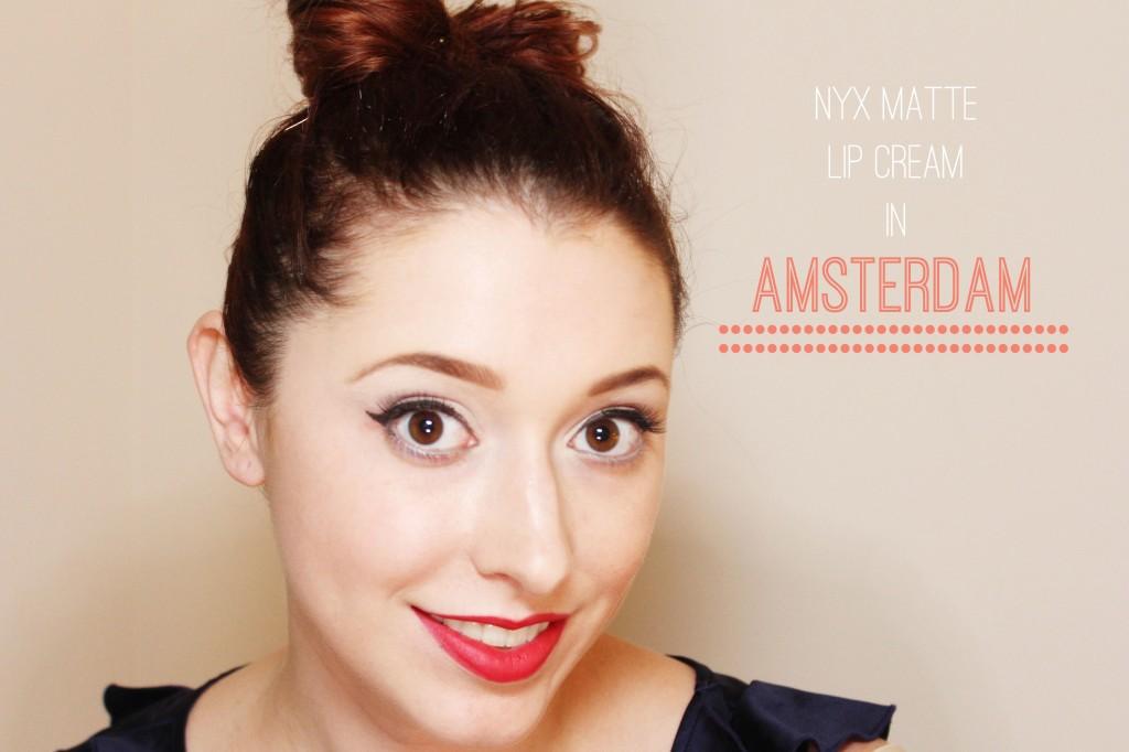 Nyc Cosmetics Matte Lip Cream in Amsterdam