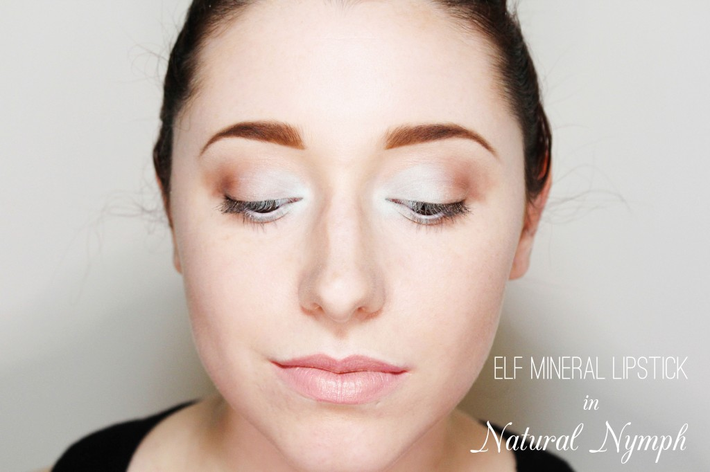 Elf Mineral Lipsticks in Natural Nymph