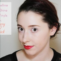 Maybelline Wet SHine Lip Vinyl in Cherry Lick