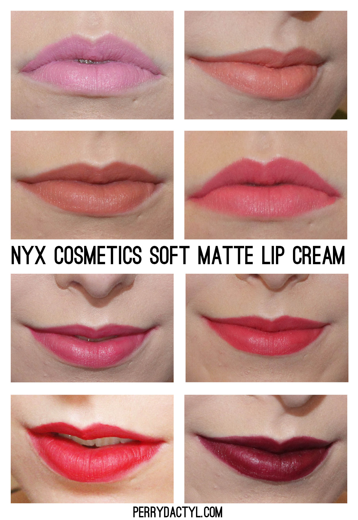 @NYX Cosmetics Soft Matte Lip Cream comes in amazing colors and lasts all day.