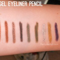 Ulta Gel Liner, Copper, Bronze, Penny, Night Sky, Olive Oil, Moss, Silver Dust, Golden Egg, Majesty
