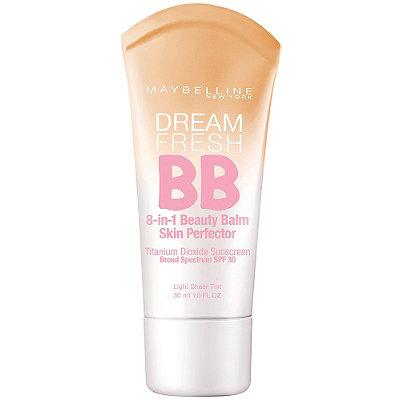 Maybelline BB Cream evens skin and is perfect for a quick summer look.